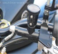 Alu Bremsflüssigkeitsbehälter hinten